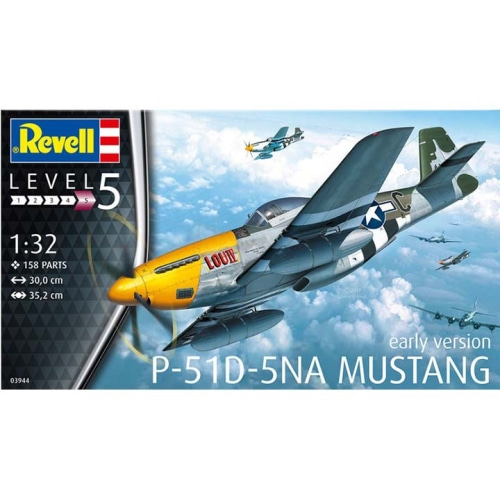 BV3944 1/32 P-51D-5NA Mustang (early version)